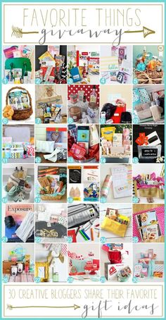 Favorite Things Holiday Giveaway Blog Hop!! (30 Winners!)