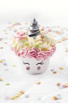 Les Champicornes, les champignons qui t'envoient au pays des licornes - cupcake and buttercream