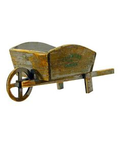 Loving this Mini Wheelbarrow on #zulily! #zulilyfinds