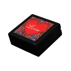 Colorful Heart Gift Box