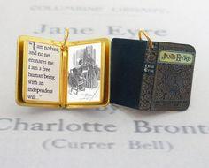 Jayne Eyre - Wonderful Vintage-Style Charms That Look Like Miniature Versions of Beloved Classic Novels