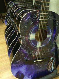Custom promotional wrapped guitars by Brand O' Guitar Company