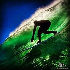 """""""Pulling In""""  A different angle of an unknown surfer setting up for a perfect tube. Like and share if you like getting barreled. Mahalo! - Repin to win! Read directions on the board description. Thanks."""