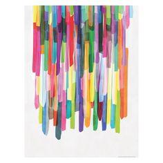 COLOURFUL STRIPES 4 60 x 80 cm Print by Mareike Bohmer