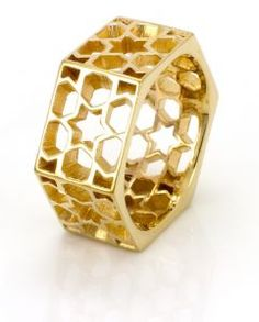 Gold Promise Lattice Ring, The Individual