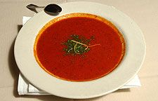 Cafe Lily's Tomato-Dill Soup