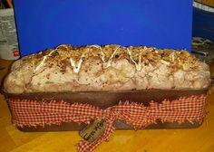 Gotta Have Projects: Primitive Faux Bread Using Spray Foam