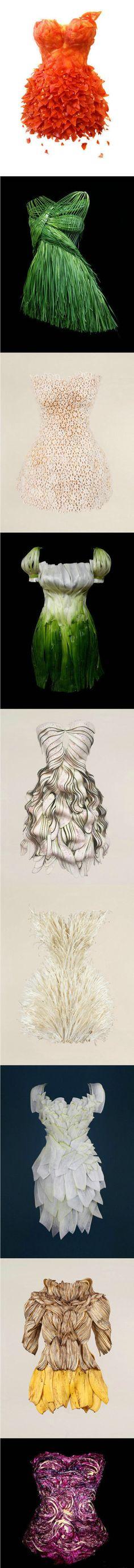 vegetable in fashion design