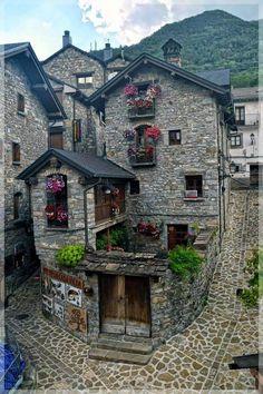 Torla, Huesca. España