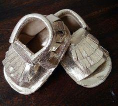 Genuine Leather Moccasin Sandals