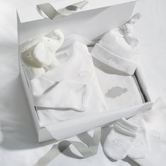 London gift box the white company for baby 4 pinterest white newborn gift set the white company negle Gallery