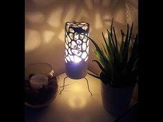 How To Make Ceramic Nightlight/ Seramik Gece Lambası Yapımı - YouTube How To Make Ceramic, Epoxy, Night Light, Design Art, Table Lamp, Make It Yourself, Youtube, Table Lamps, Youtubers