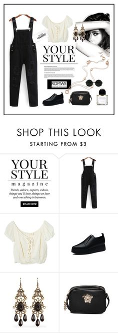 """""""Your Style"""" by ul-inn ❤ liked on Polyvore featuring Pussycat, Jens Pirate Booty, Chanel and Versace"""
