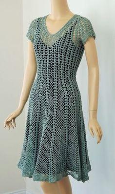 CGOA 2014 Design Competition: Showing YOU the Crochet   Doris Chan Crochet - Seashell Dress, designed by Linda Jefferies