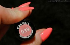 Semilac 033 Pink Doll Pink Doll, Gel Nails, Nail Art, Dolls, Shades, Gel Nail, Baby Dolls, Doll, Nail Arts