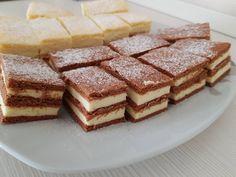 Mimóza szelet és fahéjas vaníliás szelet, két pompás és finom sütemény! - Ketkes.com Tiramisu, Recipies, Food And Drink, Keto, Breakfast, Ethnic Recipes, Sport, Hungary, Kuchen