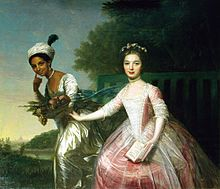 """wonderwarhol: """" Portrait of Dido Elizabeth Belle Lindsay and her cousin Lady Elizabeth Murray, believed to be by Johann Zoffany. Dido Elizabeth Belle Lindsay was the mixed-race daughter of a British aristocrat. Women In History, Black History, Art History, History Facts, Betty Boop, Lady Elizabeth, 18th Century Fashion, Mixed Race, African American History"""