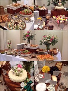 Canape buffet - rustic and beautifully presented