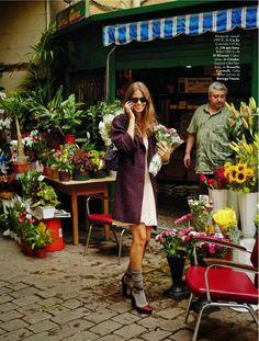 visual optimism; fashion editorials, shows, campaigns & more!: de la cama a la calle: lauren auerbach by riccardo tinelli for elle spain nov...