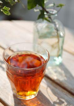 Chá anticelulite para alisar a pele