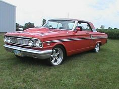 Make:  Ford Model:  Fairlane Year:  1964 Body Style:  Coupe Exterior Color: Red Interior Color: Black Doors: Two Door Vehicle Condition: Excellent Price: $20,695 Mileage:25,000 mi Fuel: Gasoline Engine: 8 Cylinder Transmission: Manual   for more info: http://UnitedCarExchange.com/a1/1964-Ford-Fairlane-694828880788