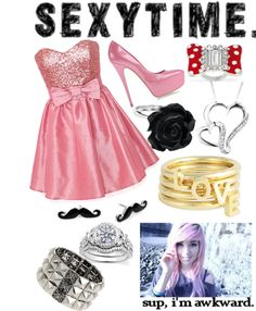 """""""SEXYTIME 2."""" by haigurl-143 ❤ liked on Polyvore"""