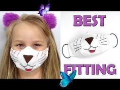 Kids face mask | DIY face mask all sizes | Best fitting mask  <br> Funny Face Mask, Diy Face Mask, Sewing Patterns Free, Free Sewing, Diy Masque, Face Masks For Kids, Best Masks, Pattern Pictures, Child Face