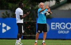 Em recuperação de caxumba, Joel volta a treinar e pode enfrentar Coritiba  http://santosjogafutebolarte.comunidades.net/lojas