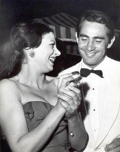 Sandra Milo & Walter Chiari