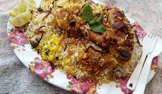 Restaurant Style Chicken Biryani Recipe, Chicken Dum Biryani Recipe, Savoury Rice Recipe, Savory Rice, Rice Recipes, Indian Food Recipes, Ethnic Recipes, Hyderabadi Cuisine, Recipe Master