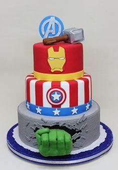 Advenger Cake Pinteres