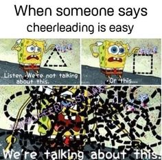 I miss cheerleading so much - Funny Sports - - Yessss! I miss cheerleading so much The post Yessss! I miss cheerleading so much appeared first on Gag Dad. Funny Cheer Quotes, Cheer Qoutes, Cheer Funny, Cheer Sayings, Motivational Sayings, Sport Quotes, Inspirational Quotes, Pole Dance, Cheer Dance