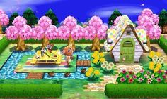 Animal Crossing: New Leaf & HHD QR Code Paths Water, bridge,path HHD   REF. PIC<---
