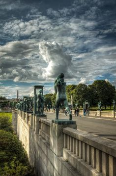 Vigelandsparken, Oslo, Norway
