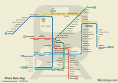 16 Best Athens Metro images