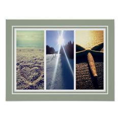 Shop Triptych photo collage template wall poster print created by photoedit. Triptych Wall Art, Canvas Wall Art, Wall Art Prints, 3 Photo Collage, Photo Collage Template, Poster Wall, Poster Prints, Personalized Posters, Personalized Gifts