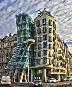 Dancing House, Prague Interesting Buildings, Multi Story Building, Dance, Explore, Architecture, World, Places, Travel, Houses
