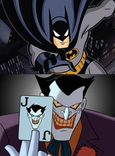 The joker batman the animated series by tanimationlb - Batman contre joker ...