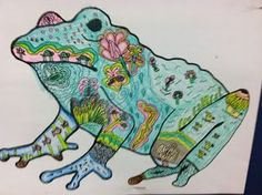 Reinforce connections between an animal and its habitat through this fun art project: students are encouraged to illustrate the animal with its habitat.