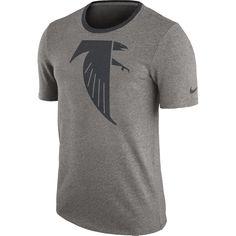 Men s Nike Heathered Gray Atlanta Falcons Retro Modern Ringer T-Shirt  Atlanta Falcons Shirts 09fb0b105
