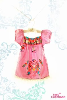 baby Mexican dress