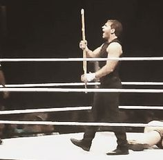 [gif] so excited that he's got himself a weapon Kentucky Basketball, Sports Basketball, Duke Basketball, College Basketball, Basketball Players, Soccer, Wwe Gifs, Roman Reigns Dean Ambrose, Wwe Funny