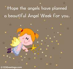 Cute card for Angel week!