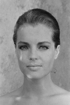 Chez Lipp: Vogue Beauty: Yvonne Catterfeld à la Romy Schneider