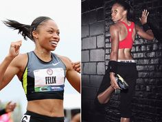 Allyson Felix - Track and Field - USA