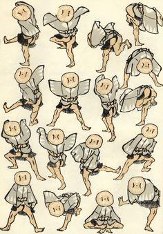Hokusai Manga Japan Painting, Drawing Sketches, Drawings, Katsushika Hokusai, Body Reference, Historian, Folklore, Manga Art, Illustration Art