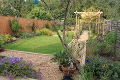 Bounds Green, North London, Suburban garden