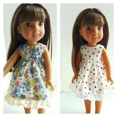 A personal favorite from my Etsy shop https://www.etsy.com/listing/476580702/14-and-145-inch-doll-clothing-dress