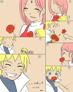 Cute narusaku part 2 Boruto 2, Narusaku, Naruto Shippuden, Familia Uzumaki, Darling In The Franxx, Wattpad, Cute, Heart, Image