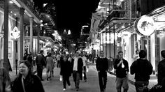 Bourbon Street, New Orleans, Louisiana